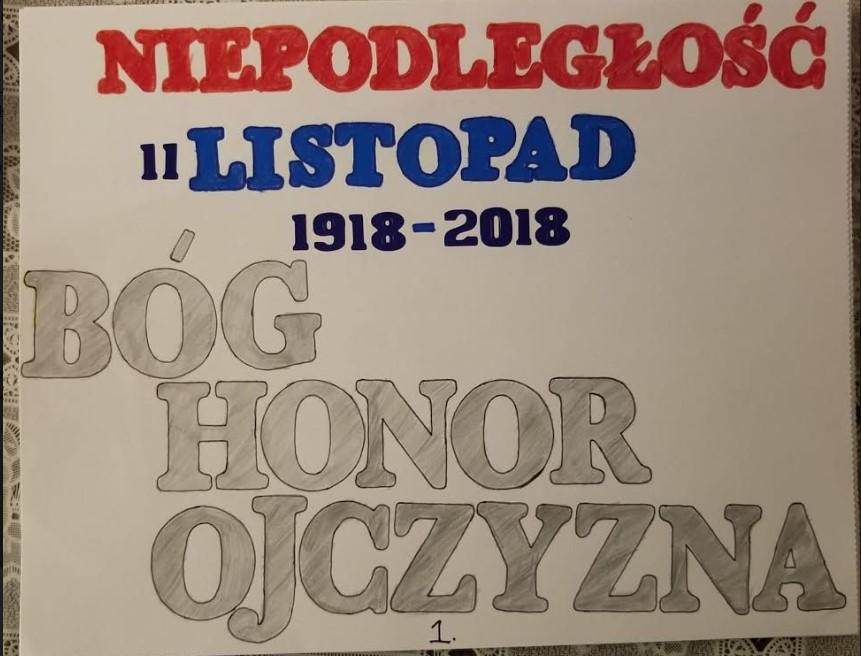 Nasza uczennica wyróżniona w konkursie Fundacji Edukacji Polonijnej!