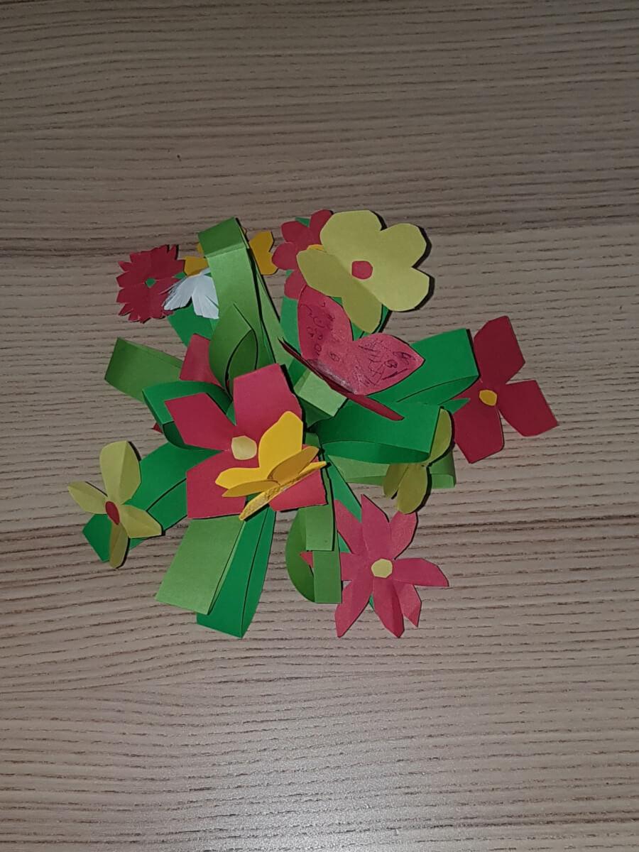 Wiosenne prace dzieci
