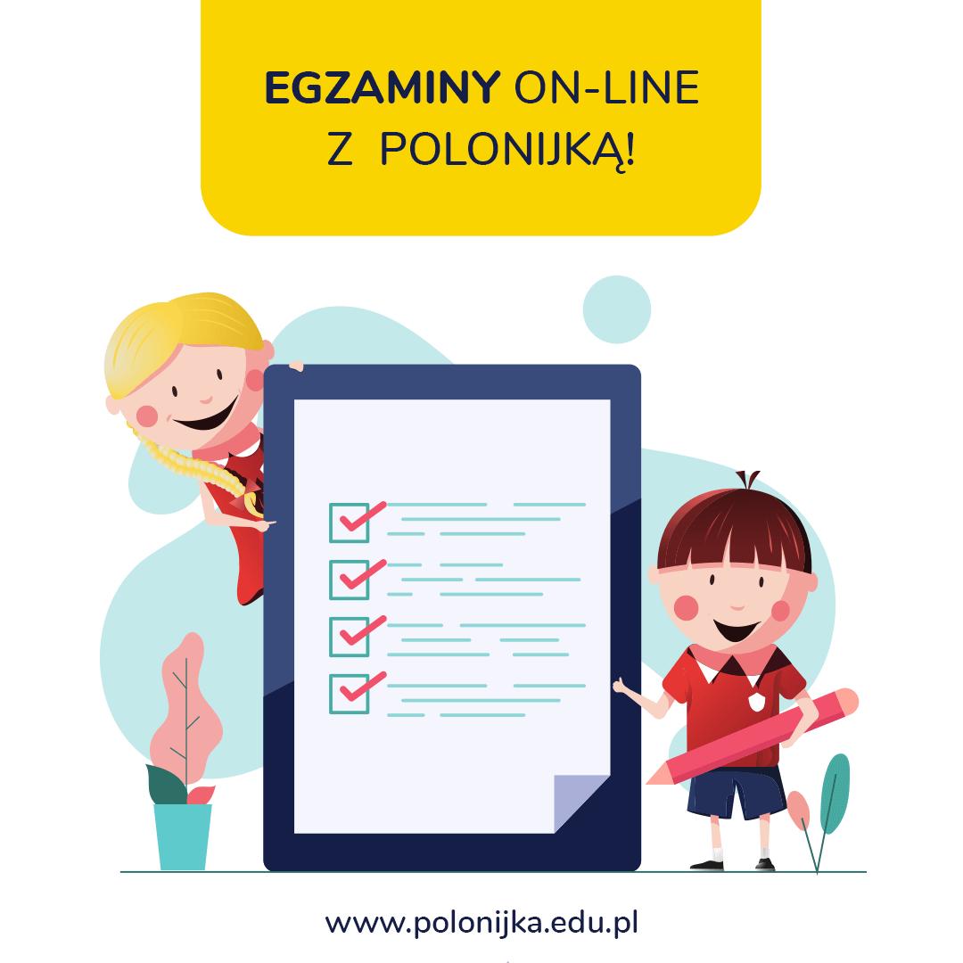 Trwają egzaminy on-line